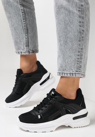 Czarne Sneakersy Molmellia