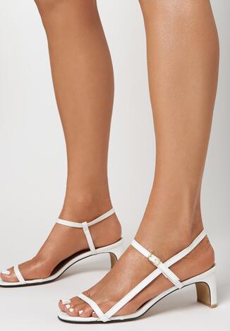 Białe Sandały Kyrissa