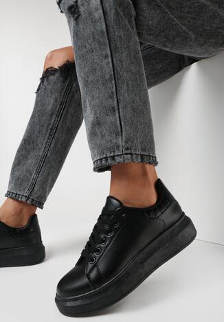 Czarne Sneakersy Hypnotic