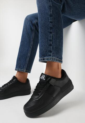 Czarne Buty Sportowe Melome