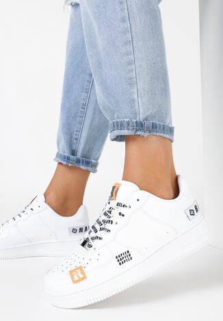 Białe Buty Sportowe Bolidora