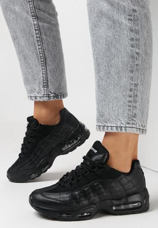 Czarne Buty Sportowe Caliseise