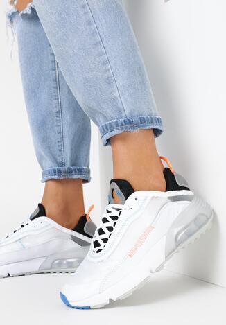 Biało-Szare Buty Sportowe Corisesis
