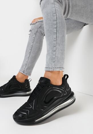 Czarne Sneakersy Ethemisa