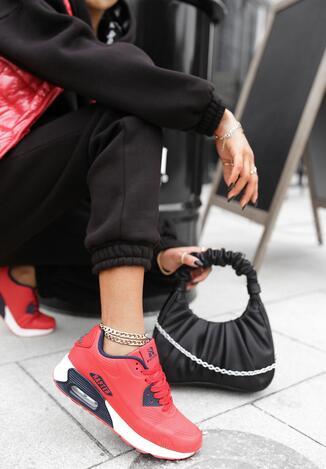 Czerwone Buty Sportowe Thronishis