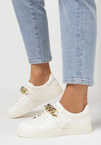 Beżowe Sneakersy Artaera