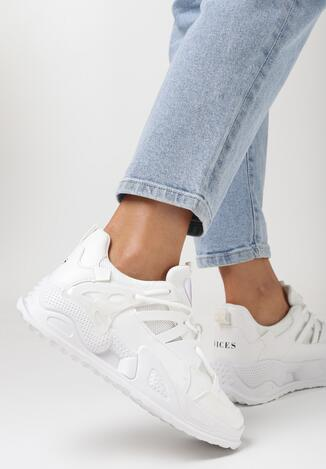 Białe Sneakersy Echowen