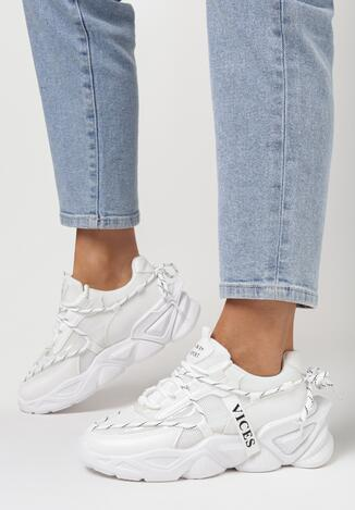 Białe Sneakersy Arielody