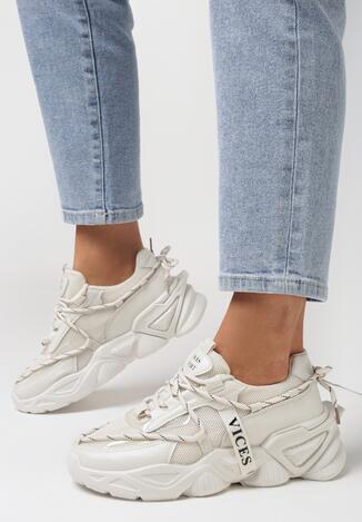 Beżowe Sneakersy Arielody