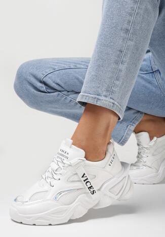 Białe Sneakersy Astoreia