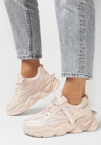 Różowe Sneakersy Tryphon