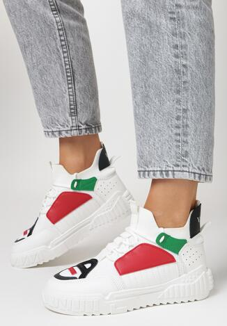 Białe Sneakersy Dorice