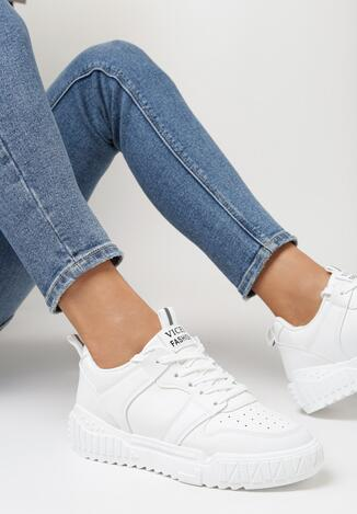 Białe Sneakersy Delephone
