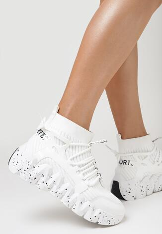 Białe Sneakersy Andrassa