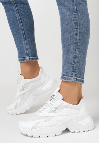 Białe Sneakersy Iomessa