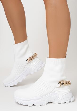 Białe Sneakersy Klymale