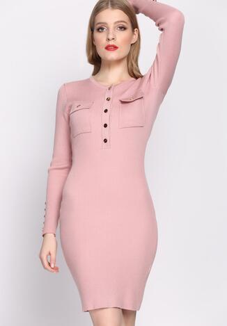 Różowa Sukienka Keep Turning