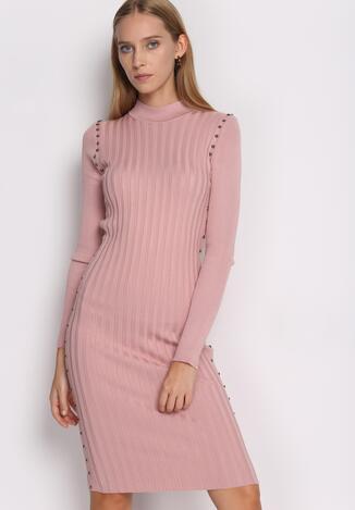Różowa Sukienka Young Night