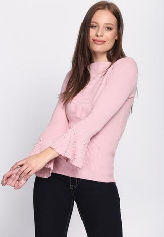 Różowy Sweter Mind