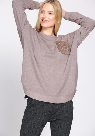 Khaki Sweter Gentle
