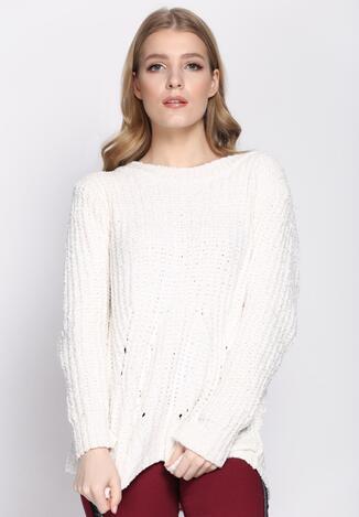 Biały Sweter Toasty