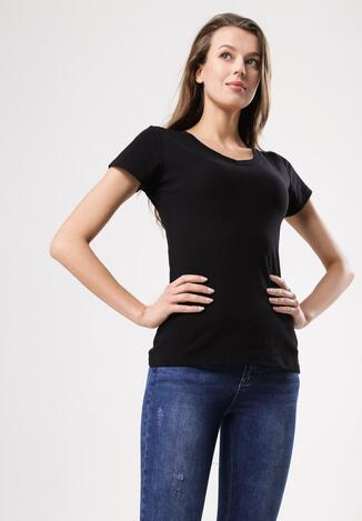Czarny T-shirt Highly