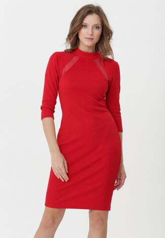 Czerwona Sukienka Juliettice w Born2be.pl