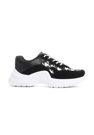 Czarno-Białe Sneakersy Pair Sect