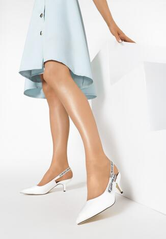 Białe Sandały Behind The Corner