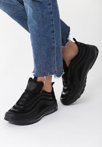 Czarne Buty Sportowe Shady Life