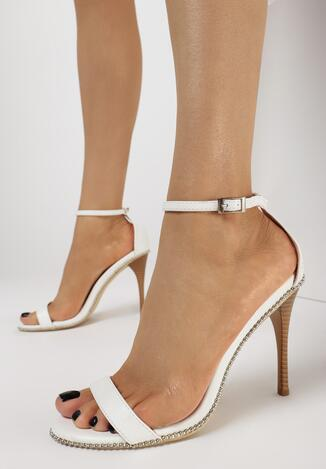 Białe Sandały Move Closer