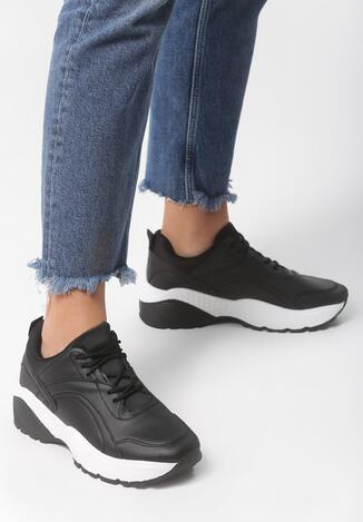 Czarne Sneakersy Stereo Love