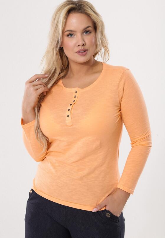 Pomarańczowa Bluzka Craze