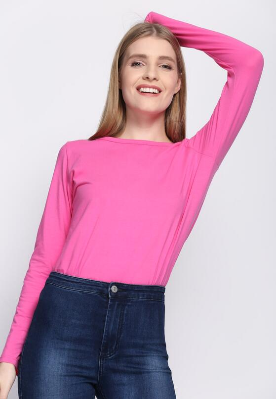 Różowa Bluzka Hey Girl