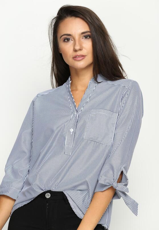 Granatowa Koszula Pascal