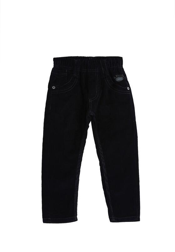 Granatowe Spodnie Casual Kid