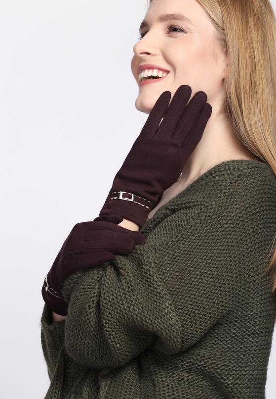 Brązowe Rękawiczki Invisible