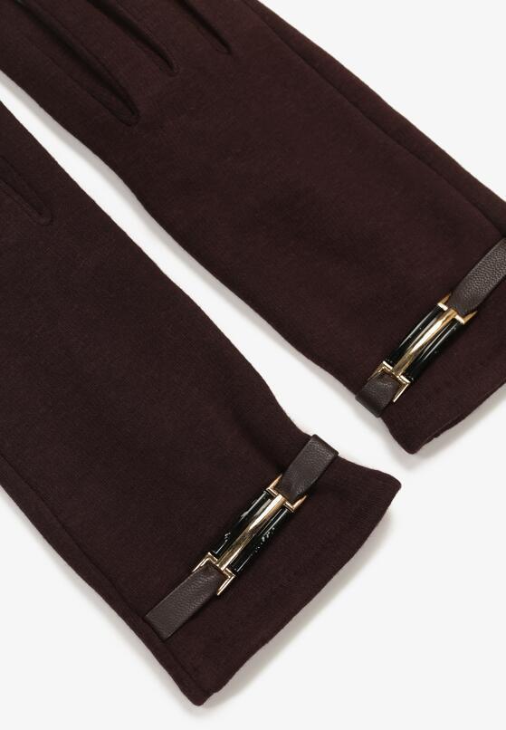 Brązowe Rękawiczki Envelop