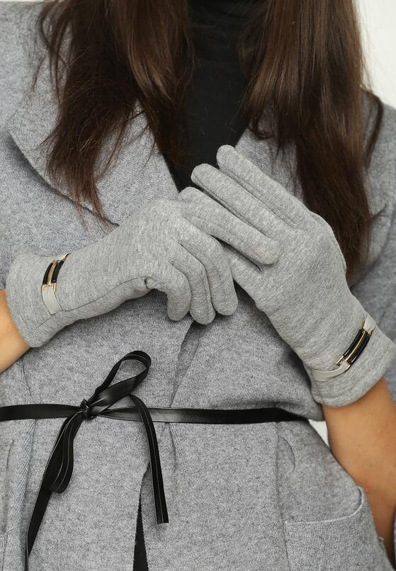 Szare Rękawiczki Envelop