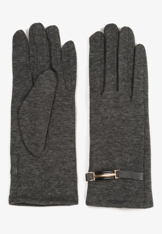 Ciemnoszare Rękawiczki Envelop