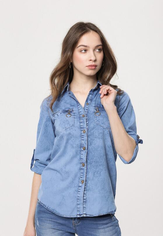 Niebieska Koszula Royal Blue