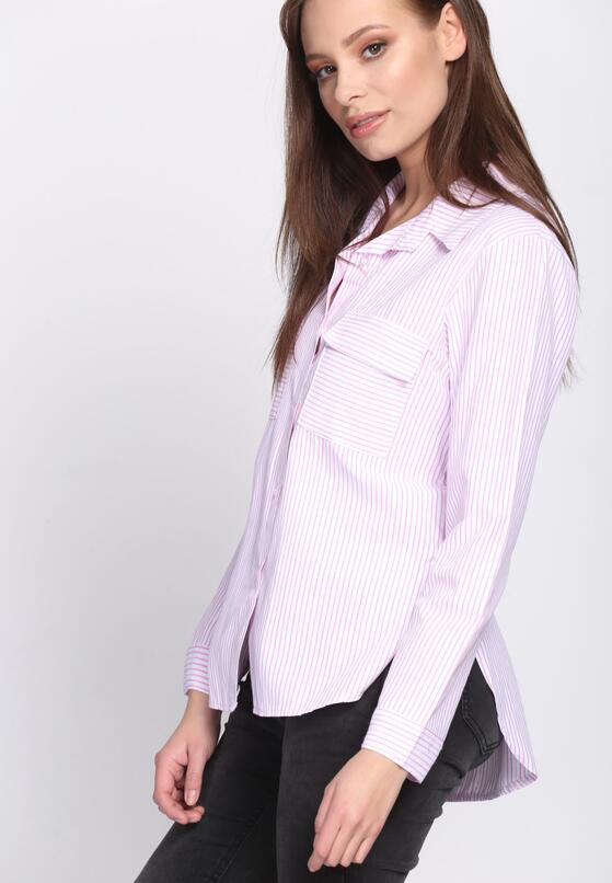 Różowa Koszula Classic Stripes
