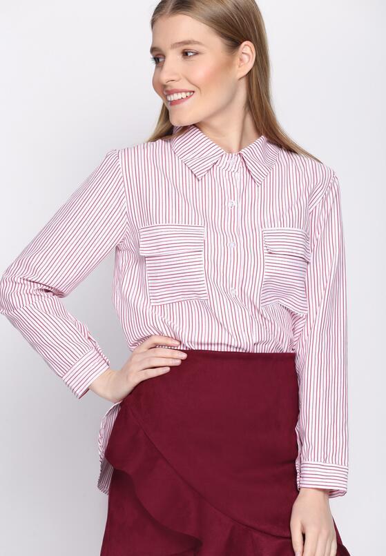 Czerwona Koszula Classic Stripes
