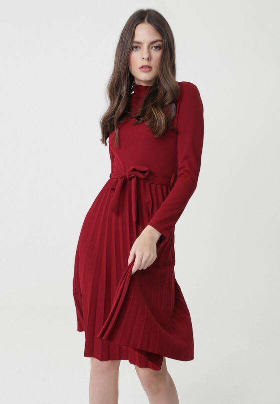 Bordowa Sukienka Forever