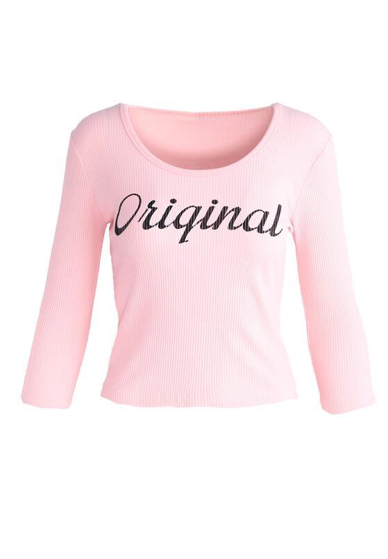 Różowa Bluzka Be Original