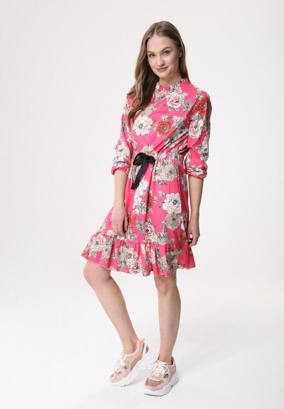 Fuksjowa Sukienka Summer Mango