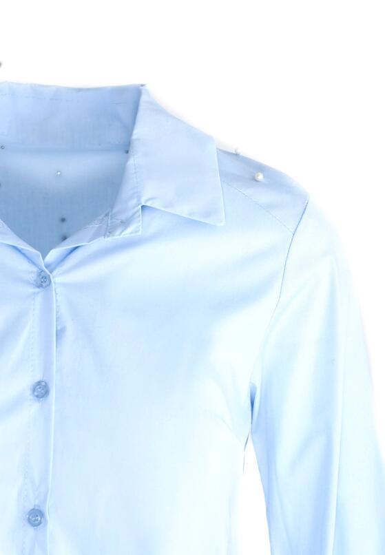 Niebieska Koszula Queen Of Hearts