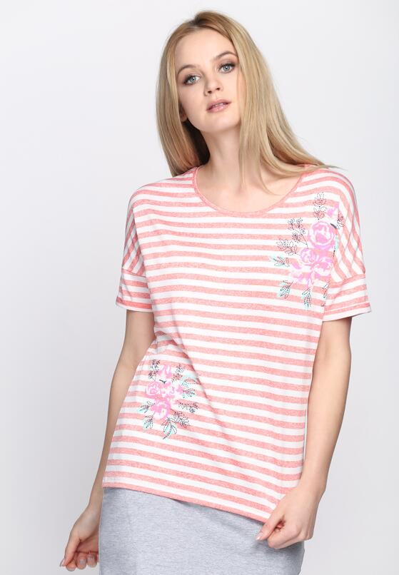 Różowy T-shirt Get Along
