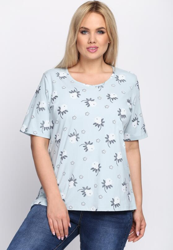 Jasnoniebieski T-shirt Impartial