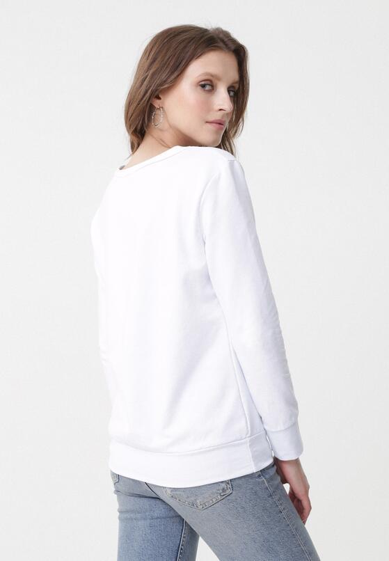 Biało-Czarna Bluza Lady Boss